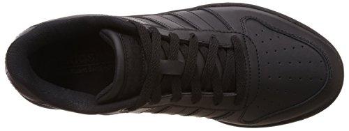 adidas Team Court, Baskets Basses Homme Negro (Negbas / Negbas / Negbas)