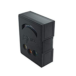 GAMEGEN!C- Keyforge Black Deck Book, Color Negro (GGS20006)