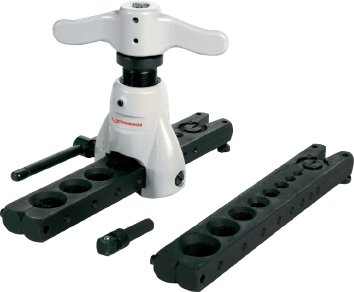 Rothenberger Taumel-Boerdelgeraet mit Matrizen metrisch/zoellig, Durchmesser 6 - 18 mm, 1/8 - 3/4 Zoll, 1 Stück, 222401