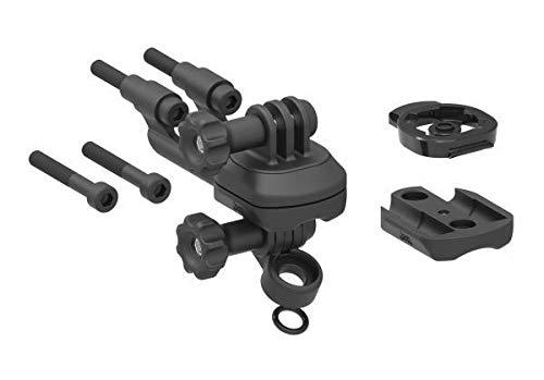 Lezyne X-Lock Duo für GPS und LED Fahrrad Lenkerhalterung, schwarz, One Size - Gps-lock