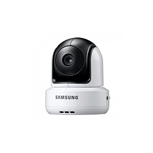 Samsung SEW-3037 Baby Monitoring System (8,9 cm (3,5 Zoll) LCD-Monitor, bis 4-Kamera, QVGA, CMOS-Sensor, Nachtsicht) weiß - 2