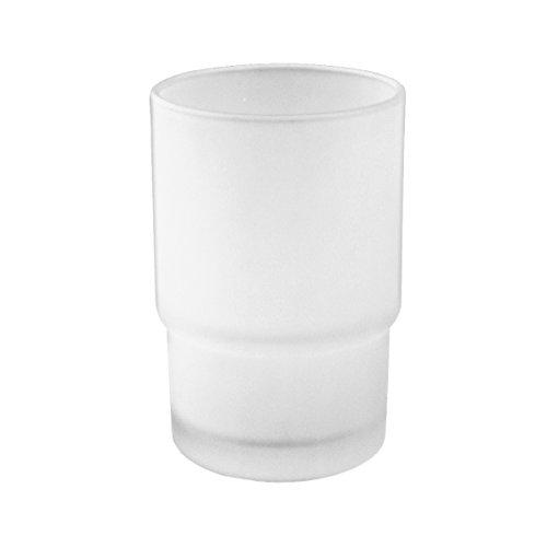 bremermann Ersatzglas Becherhalter für Piazza & Lucente - Glas-zahnputzbecher