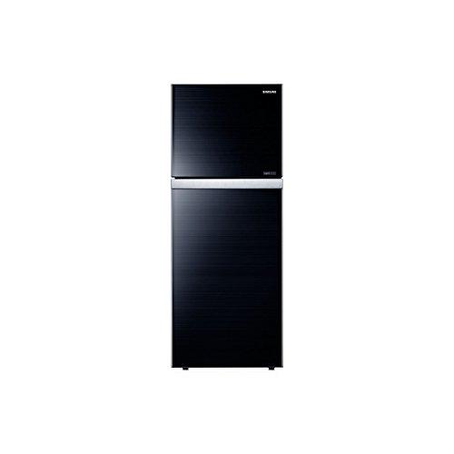 Samsung RT42HAUDEGL Frost-free Double-door Refrigerator (401 Ltrs, 4 Star Rating, Glass Black)