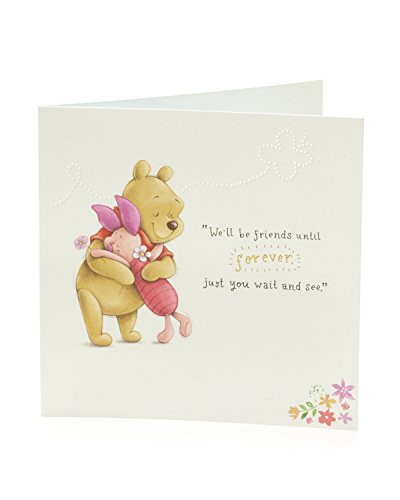 Carlton 795513-0Disney Winnie the Pooh Geburtstagskarte