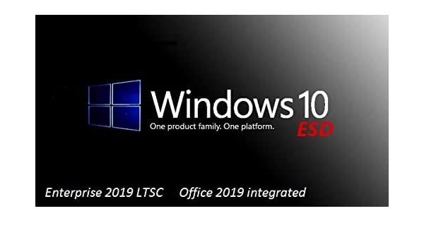 Windows 10 Enterprise 2019 LTSC with Office 2019: Amazon in