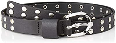 Guess Studded Leather Belt Cinturón, , S para Mujer