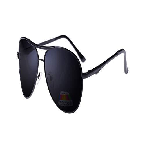 Sport-Sonnenbrillen, Vintage Sonnenbrillen, New Pilot Sunglasses Männer Polarized Uv400 High Quality Retro Vintage Männer Sunglasses Polarized Driving Shield Sun Glasses For Male Black frame gray