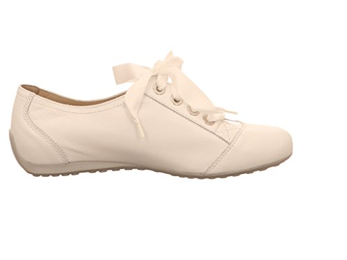 Semler N6056-011-010, Scarpe stringate donna Bianco