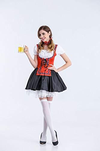 Halloween Kostüm,Halloween Kostüme Deutsche Oktoberfest Kleidung Bier Mädchen Bar, Style 3, ()