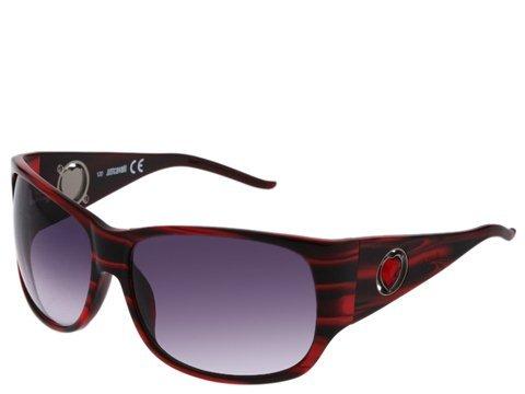 Sonnenbrille Just Cavalli-Fassung bordeaux Herz-144S/S