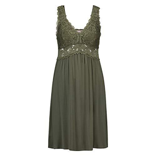 Hunkemöller Damen Slipdress Modal Lace XL