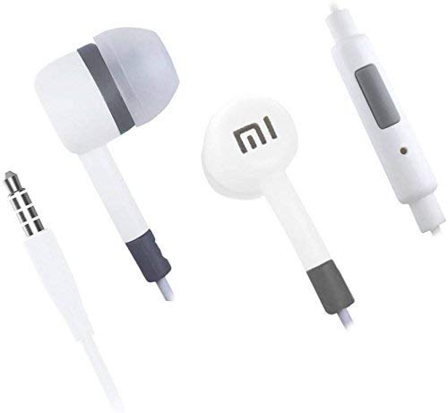 All product online Mi Super Bass Quality Wired Earphones with Mic for All Mobile (White Shade) Image 5