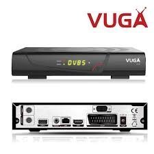 Vuga SAT H265 - Receptor satélite digital, color negro