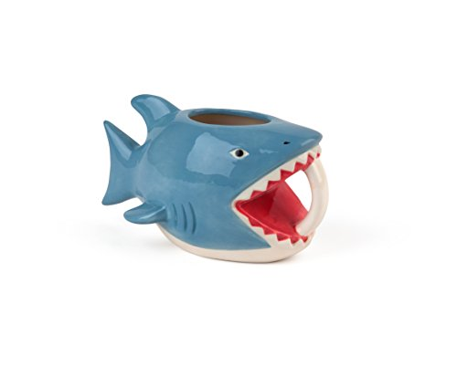 Big Mouth Toys BMMU-BMS Mug en plastique Motif requin