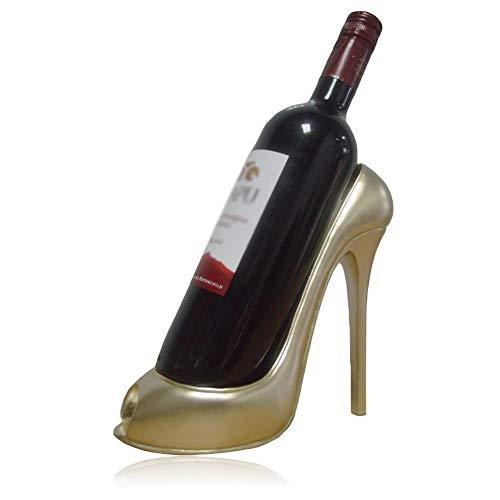 presentimer High Heel Schuh Wein Flasche Halter Wein Rack Home Dekoration Schmuck Kunsthandwerk Home Bar Möbel