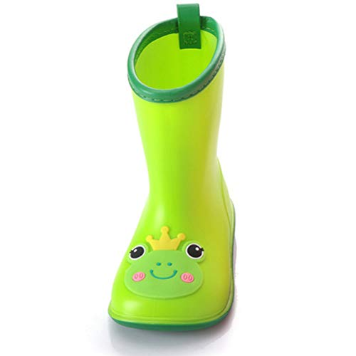 ARAUS Baby Wellies Wellington Boy Girl Non-slip Rain Boots Waterproof PVC Shoes
