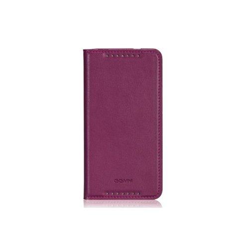 GGMM Flip Glam/Kiss-H1 Klappetui, für HTC One, malvenfarben
