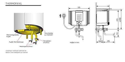 Zoom IMG-2 aeg thermofix kl 228908 bollitore