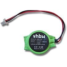 Batería para Bios vhbw 200mAh (3V) de portátiles Acer Aspire 6920, 6920g, 6935, 8920 sustituye CR2032.