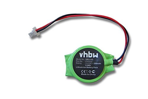 vhbw Bios Batterie 200mAh (3V) pour notebook Acer Aspire 6920, 6920g, 6935, 8920 remplace CR2032.