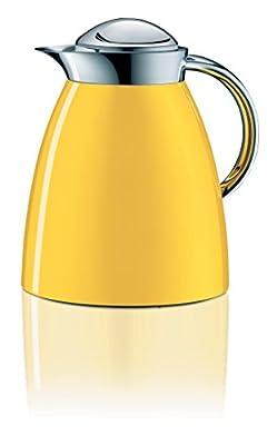 Alfi 3551.200.100Théière isotherme Gusto Tea, 1L, métal, 16,6x 20x 22cm, sun jaune