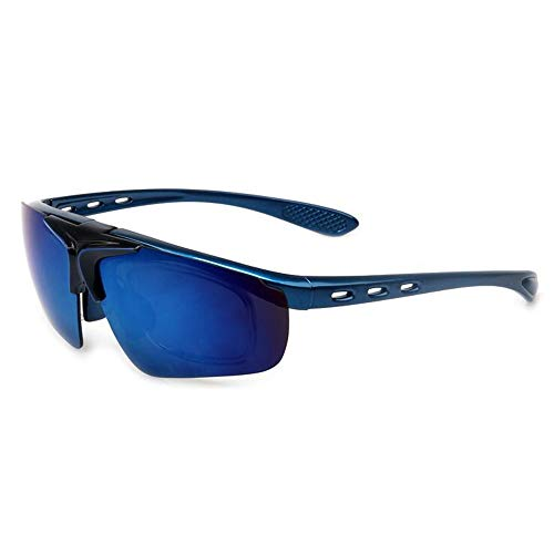 WULE-Sunglasses Unisex Outdoor Reitbrille Bunte Flip Sonnenbrille Sport Parkour Männer und Frauen (Color : 4)