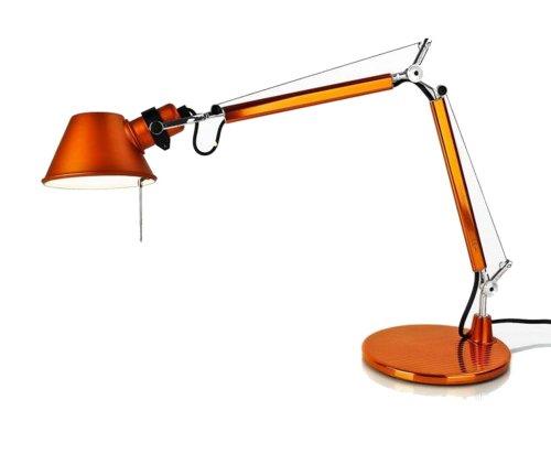 Artemide Tolomeo micro Tavolo - HALO Orange