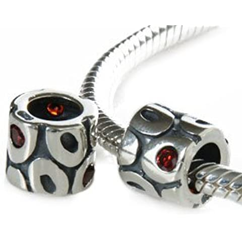 'Andante Stones in argento Sterling 925Bead