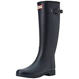 HUNTER Women's Original Refined Wellington Boots 10