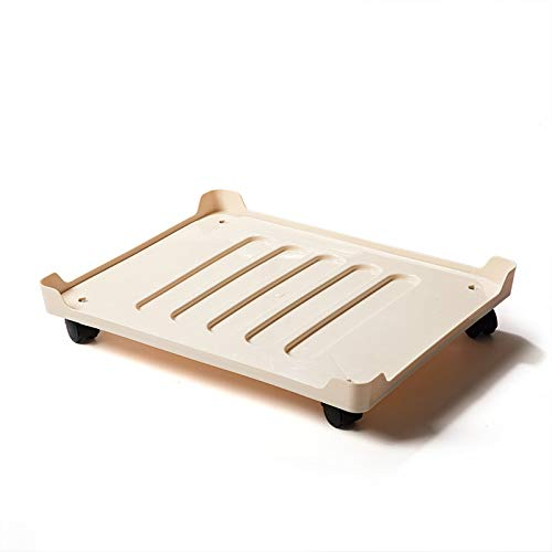 EgBert Home Storage Box Moving Tray Heavy Object Moving Tool - Beige - Filter Tray