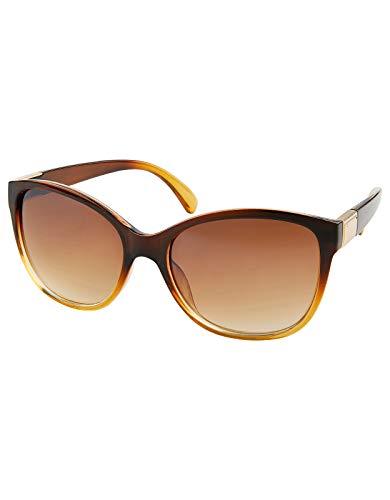 Monsoon Damen Cynthia klassische adrette Sonnenbrille Sonnenbrillen - Einheitsgröße