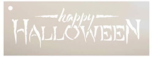 Studio R 12 Happy Halloween - Schablone   wiederverwendbar Mylar Vorlage   verwenden Holz Zeichen zu malen - 24