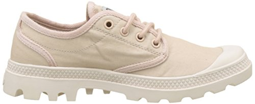 Palladium Pampa Oxford Originale Training Camp, Sneaker Donna Rosa (Rose Dust/blanc Whisper Pink K70)