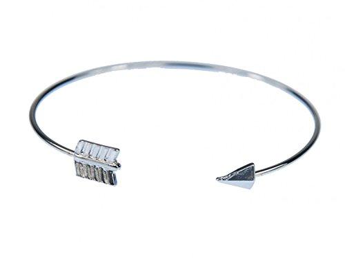 Miniblings Pfeil Armreifen Armband Armreif Indianer Pfeilspitze Silber Metall