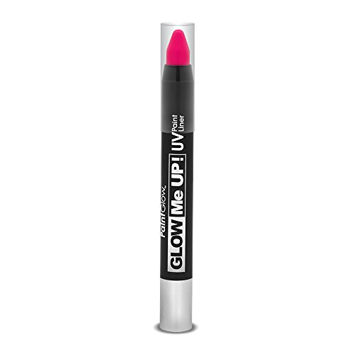 Smiffy's SM46146 - Liner UV Glow Me Up 2 - 5 g Magenta - Taille Unique