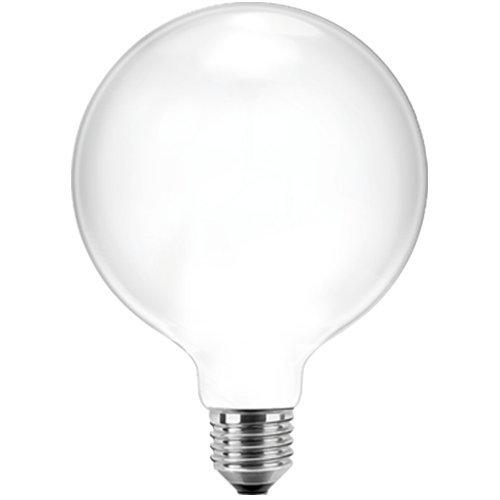 Blulaxa LED Filament Glühfaden Globelampe RETRO opal, 12,5cm, 300°, E27, warmweiß, Glas, 4W EEK: A++