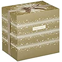Yankee Candle Holiday Sparkle Fold Out Advent Calendar, 2018, with 24 Scented Tea Light Candles in 6 Festive Scents
