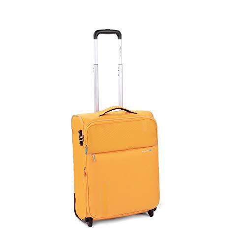 Roncato Trolley Cabina XS Morbido Speed - Bagaglio a mano cm 55x40x20/23 L 42/48 Espandibile Ultra-leggero Organizer Interno Chiusura TSA Ideale per Ryanair Easyjet Lufthansa Garanzia 2 anni