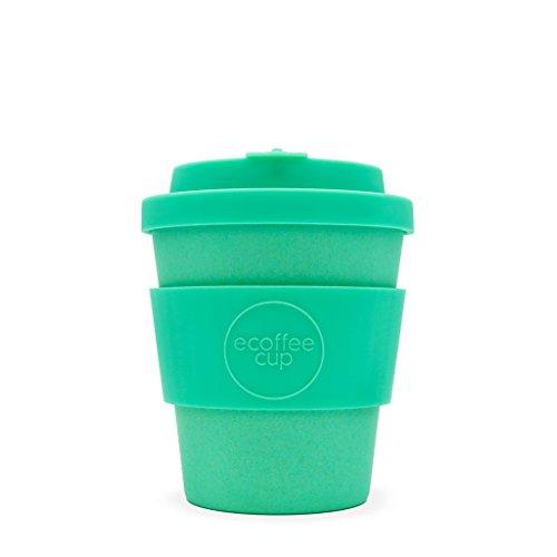 Ecoffee Cup Turquoise Inca | 226,8 gram/250 ml | réutilisable en bambou Tasse à café