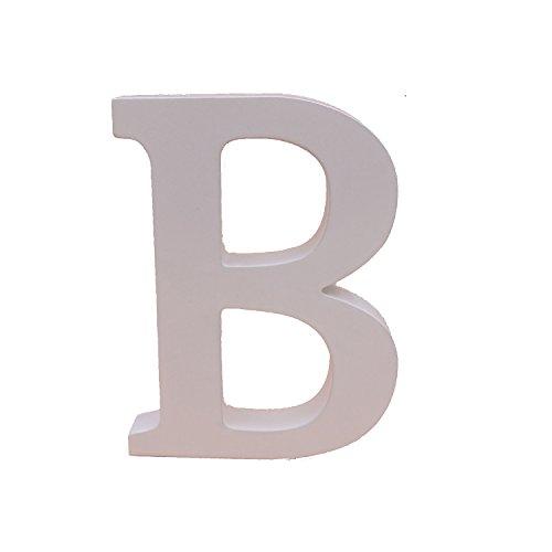 ß Holz Buchstaben 15cm Alphabet Hochzeit Geburtstag Party Home Kinderzimmer Wandtattoo Dekorationen, holz, B, 15 cm (Buchstabe B Craft)