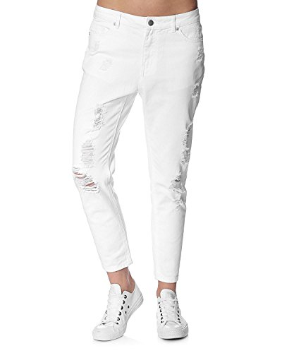 ONLY 'Tonni' Jeans Weiß