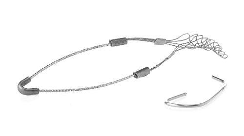 """Woodhead-Ziehen Grip, Faser, Single Eye, .19-.25"""" Cable Diameter, 1"""