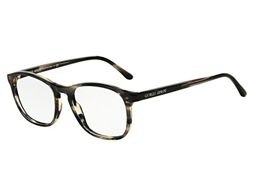 Preisvergleich Produktbild Giorgio Armani Für Mann 7003 Striped Brown Kunststoffgestell Brillen,  52mm