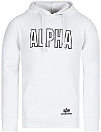 Alpha Industries Track Hoody Sweats à capuche Whit