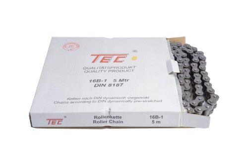 """Preisvergleich Produktbild 1 Bund (=5m) TEC Rollenkette 16B-1 (1"""" x 1702mm) DIN8187 [Grundpreis: 9,80EUR/m]"""