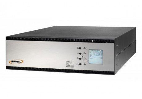 Ondulatore on line doppia conversione INFOSEC E6 LCD RT 5000 Va 4500W EVO