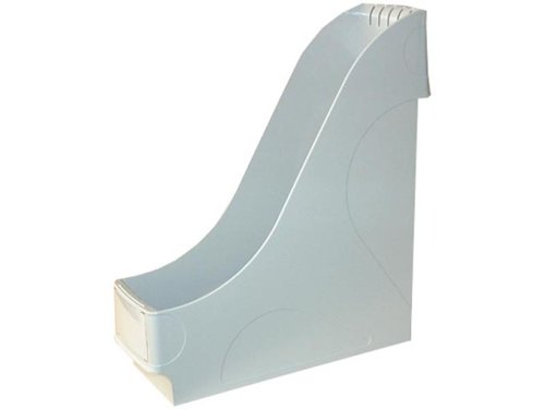 Preisvergleich Produktbild Leitz 24250085 Stehsammler, extrabreit, A4, Kunststoff, grau