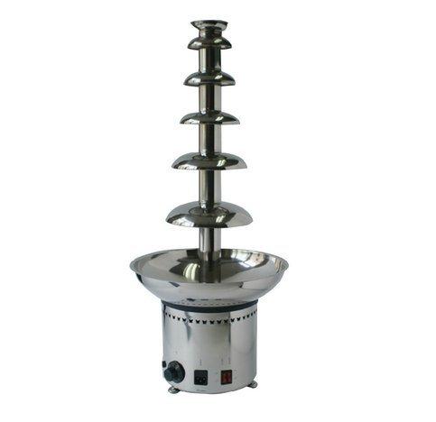 Gewerbliche Nutzung 6Etagen Schokolade Brunnen Maschine für Hochzeit Bankett CE befürworten