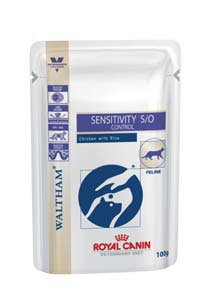 Royal Canin Sensitivity Control Cat Wet 12 x 100g - Chicken & Rice Pouch