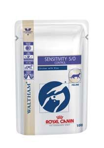 Royal Canin Sensitivity Control S/O Sachets Fraîcheur au Poulet Nourriture pour Chat 1,2 kg